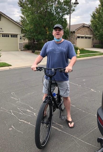 Tad Smith at home in Colorado