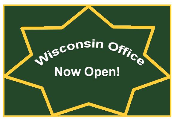 Wisconsin office now open